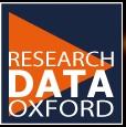 Research data management logo