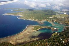 Aerial photograph of Vanuatu