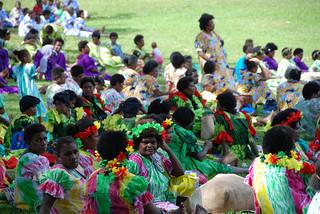 Photograph of Vanuatu Independence Day gathering