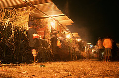 Photograph of Vanuatu Independence Day at night
