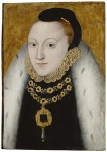 Queen Elizabeth I by unknown artist, oil on panel, circa 1560