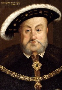 King Henry VIII after Hans Holbein the Younger, oil on panel, (circa 1536-1537)