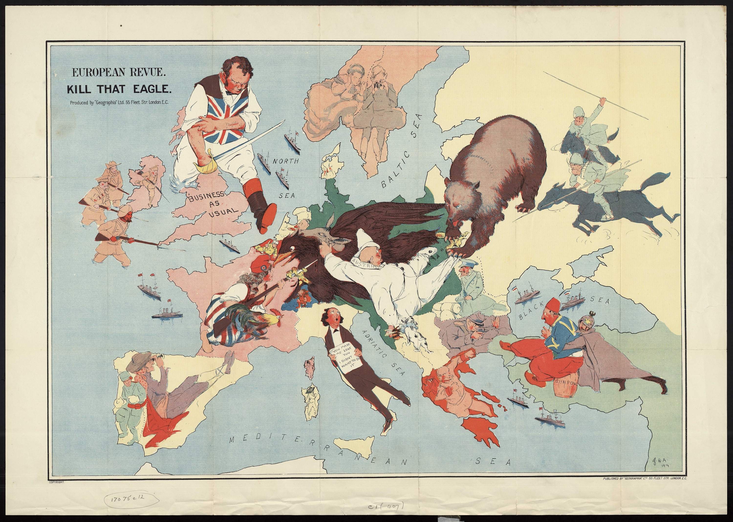 2015 Map Of Europe.Cartoon Maps Bodleian Map Room Blog