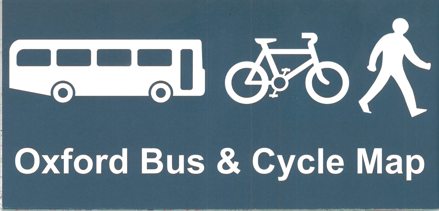 Oxford Bus Cycle Map Bodleian Map Room Blog