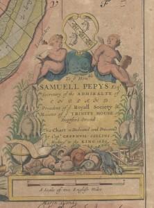cartouche pepys
