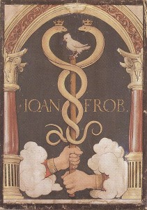 Johann Froben's printer's device