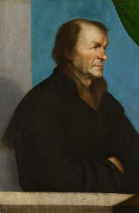 Portrait of Johann Froben by Hans Holbein the Younger, Hampton Court