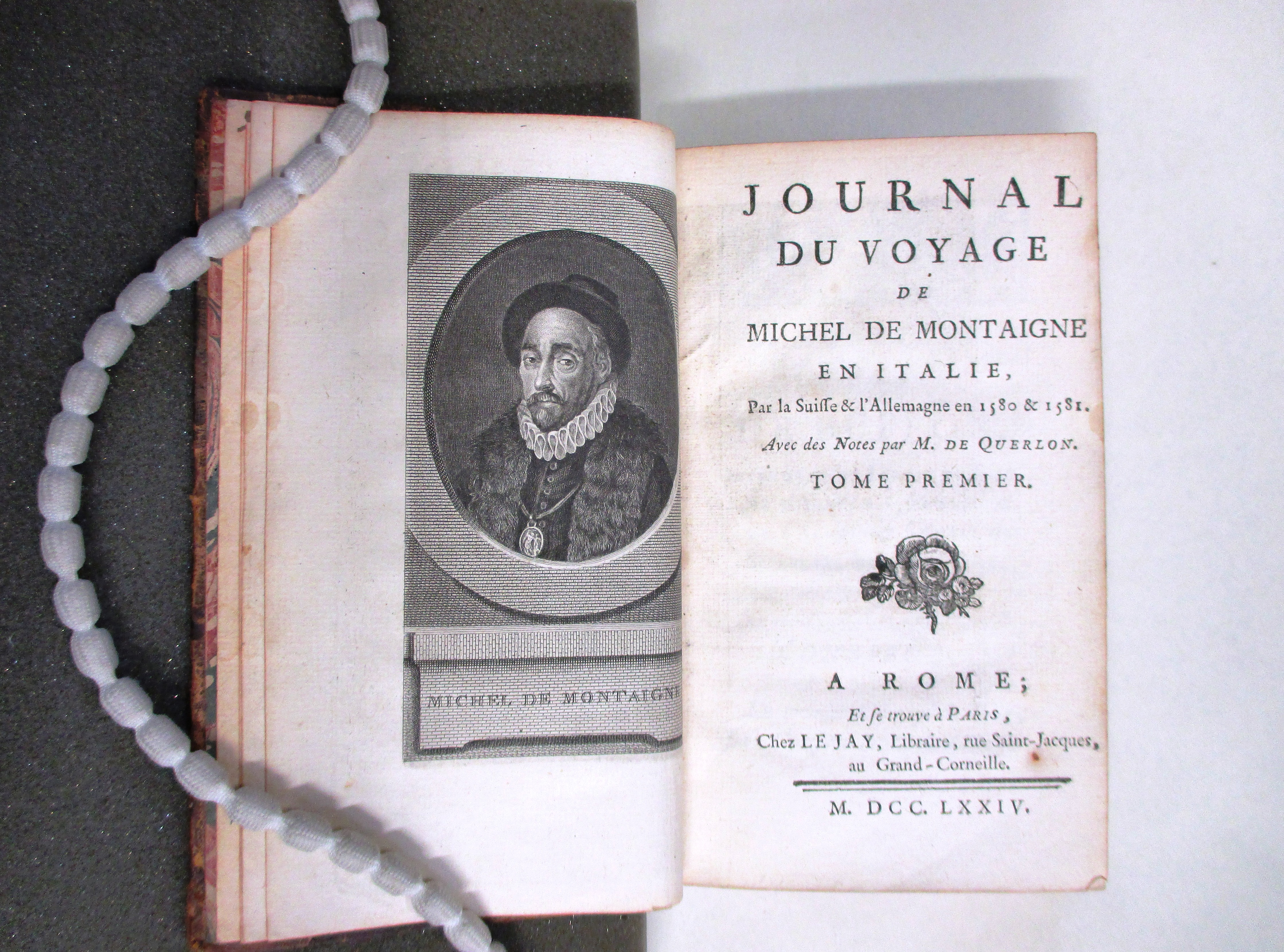 michel de montaigne taylor institution library  and travel books are a feature of the sayce collection is the one describing a journey which montaigne undertook to journal du voyage de michel