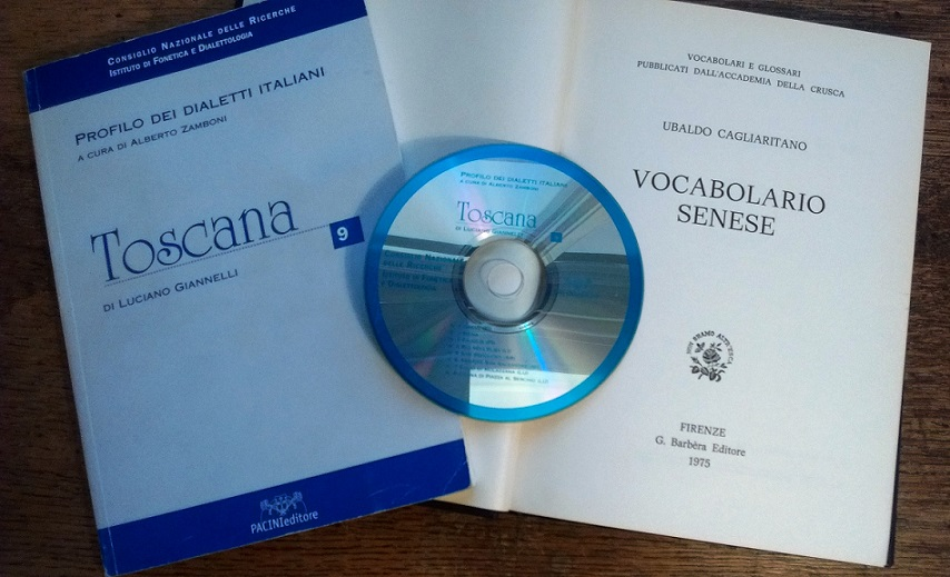Materials on Tuscan linguistic varieties in the Taylorian Collections