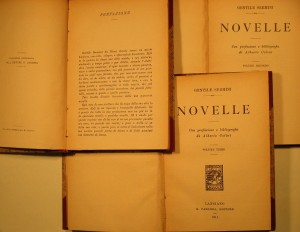 A modern edition of the Novelle (Sermini 1911)