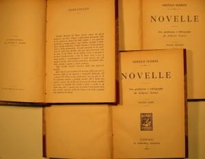 A modern edition of the Novelle (Sermini 1911)