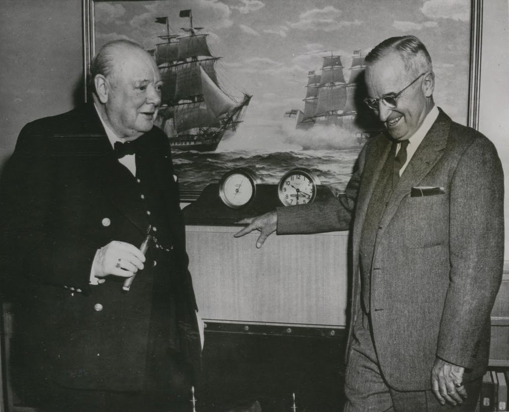 truman and churchill relationship
