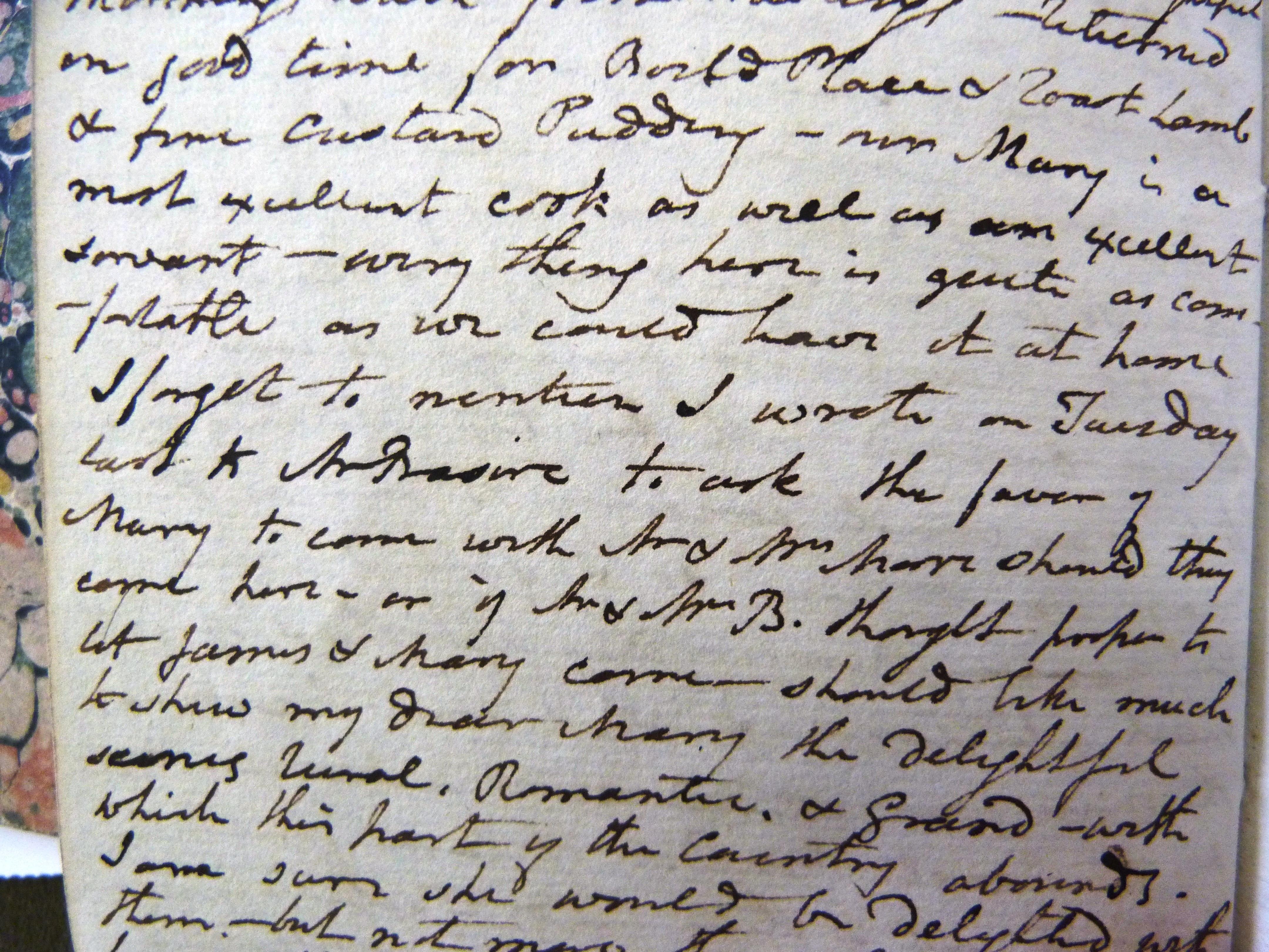 John Cox diary 1813-Basire
