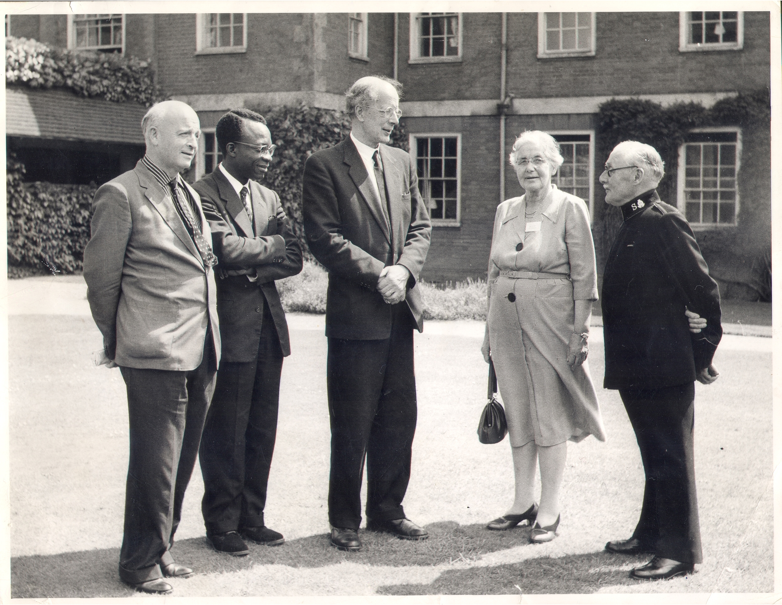 Cecil Jackson-Cole (left) and Canon T. R. Milford (centre) at the Oxfam Summer Conference, 1962. Oxfam Archive, Bodleian Libraries