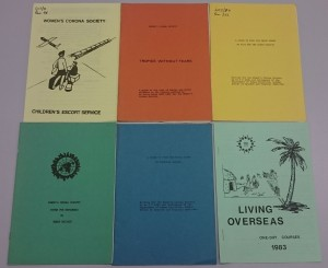 6 WCS educational pamphlets.