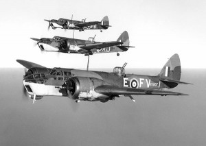 Blenheims in formation