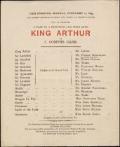 King Arthur at the Lyceum