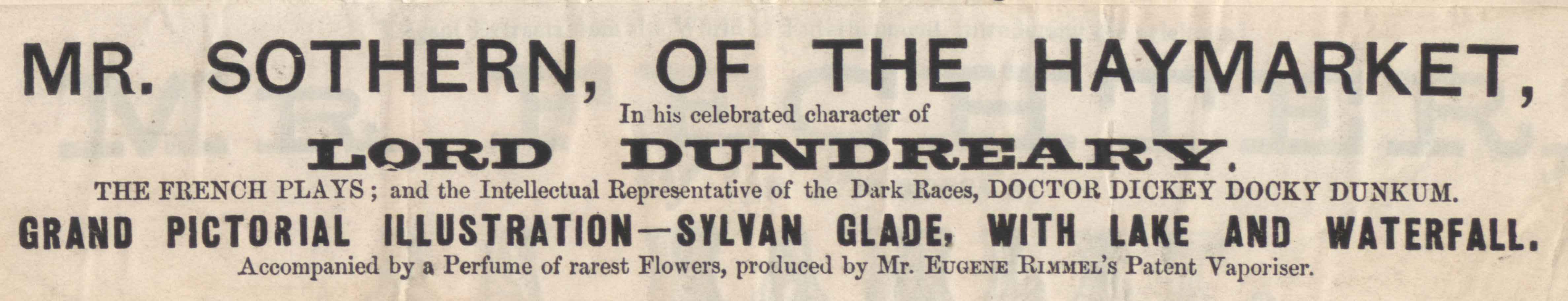 detail from W.S. Woodin playbill