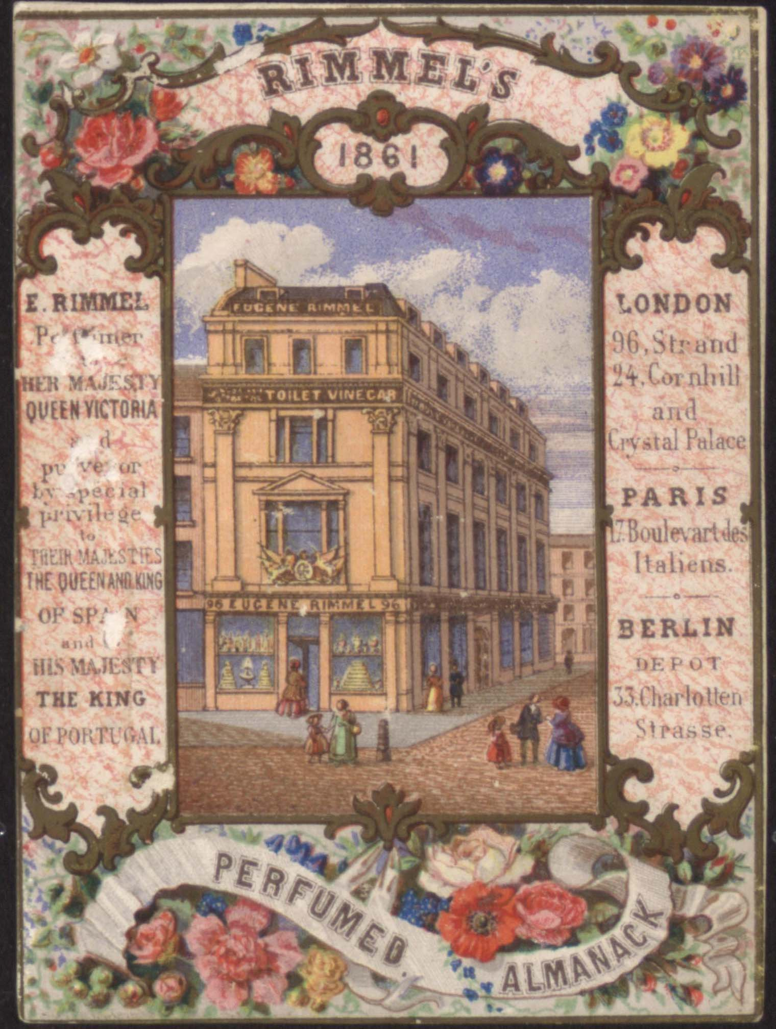 Rimmel's premises, 1861