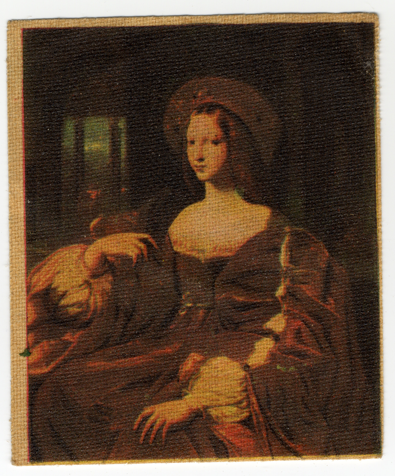 Cigarette Card: f Aragon by Raphael. Badminton: Spinet series 2, no. 38