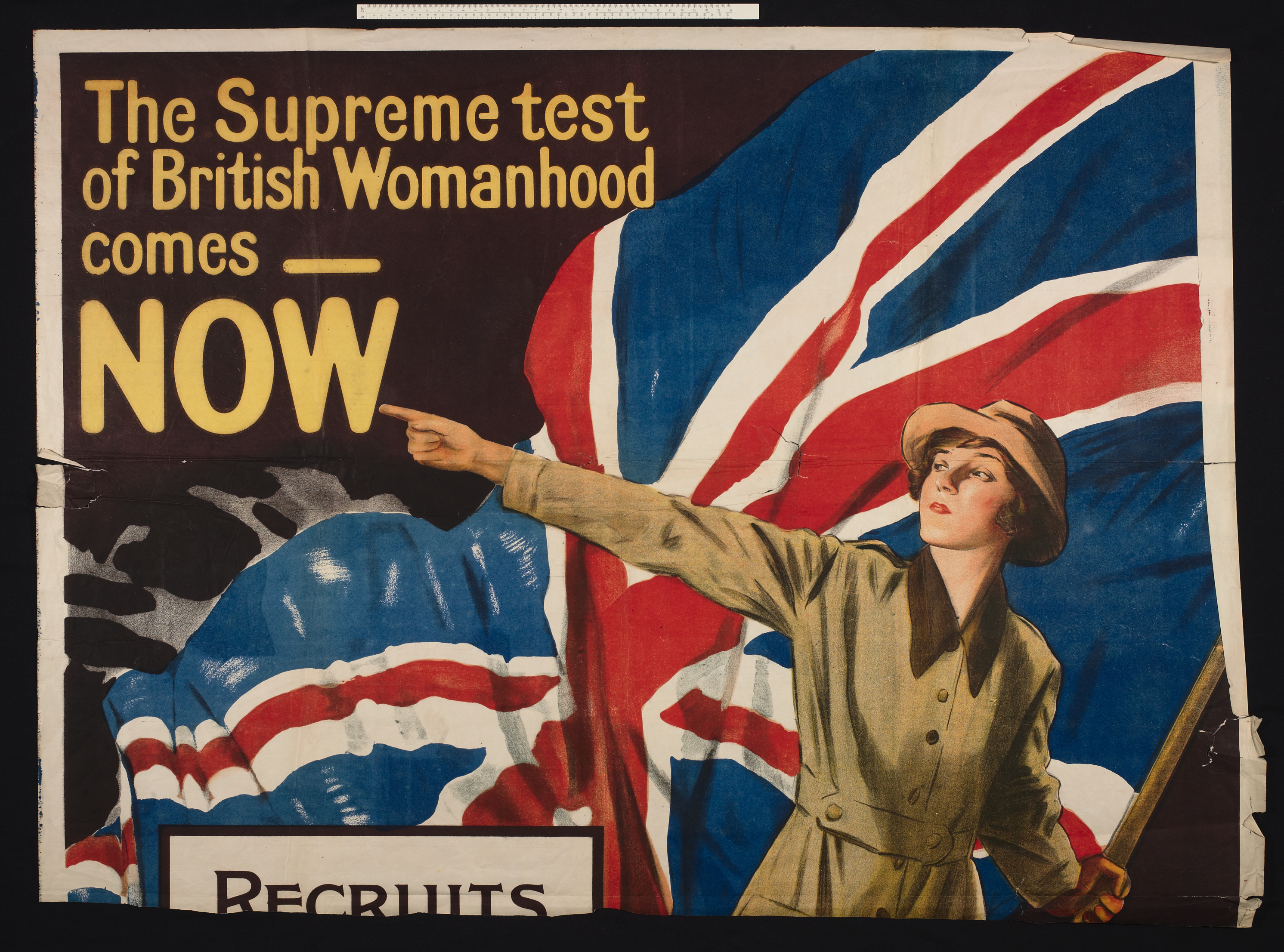 Queen Mary's Army Auxiliary Corps poster (top)