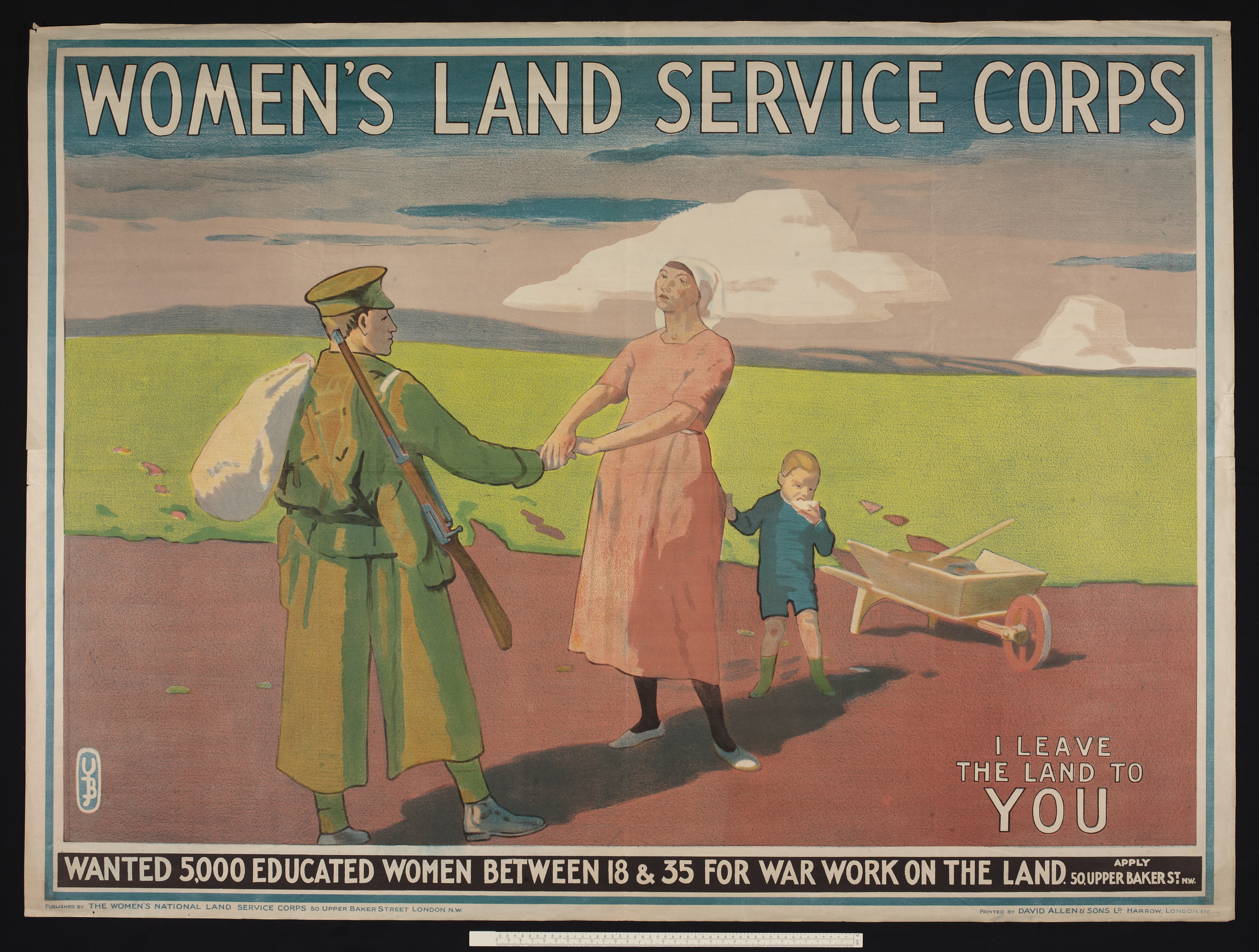 Women's Land Service Corps poster
