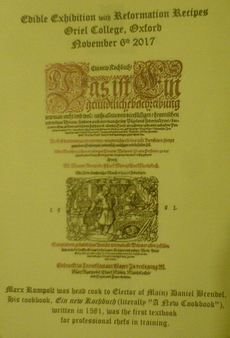 photo of the exhibition programme