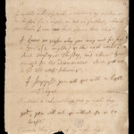 Charles II, Note to Lord Clarendon