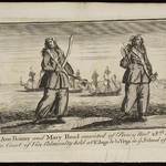 Mary Read (c. 1695–1721) and Anne Bonny (1698–1782)