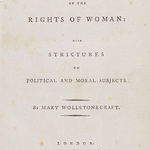 Mary Wollstonecraft (1759–1797)